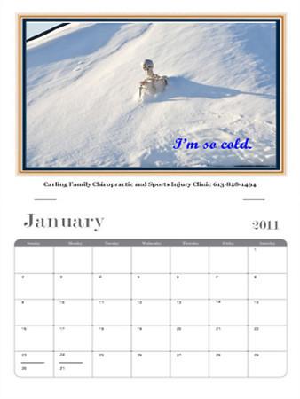 Mr Bones Calendar
