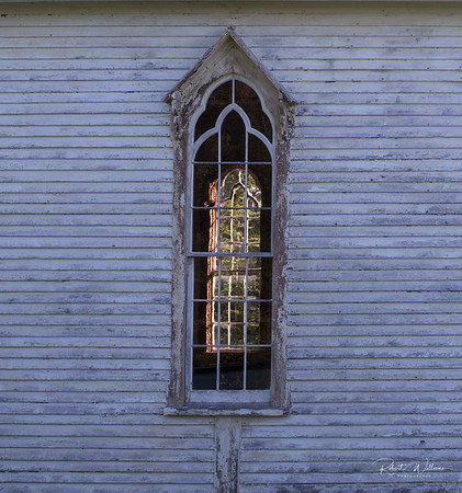 Church Window, Little Harbour, Newfoundland