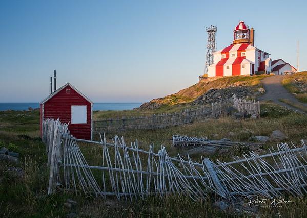 Bonavista Lighthouse at Sunset