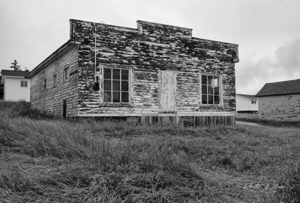 Old building in Newman's Cove, Newfoundland