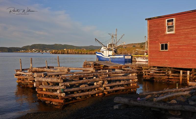 Wharf in Trinity East