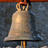Mission San Juan Capistrano bell at sunset