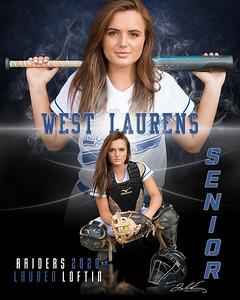 WLHS Softball Lauren Loftin