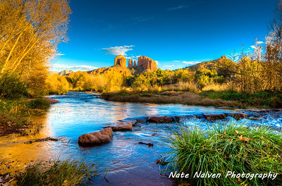 Sedona - Cathedral Rock reflection