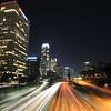The 110 Freeway at Night