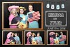 Rustic, Vintage Wedding Photo Booth Chalkboard Template. http://thelookingglassphotobooths.com/
