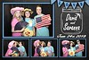 Free rustic wedding chalkboard photo booth template ideas
