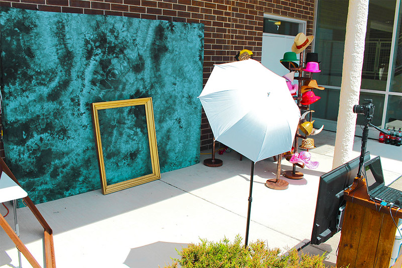A High School Photo Booth Shoot At BVSW.