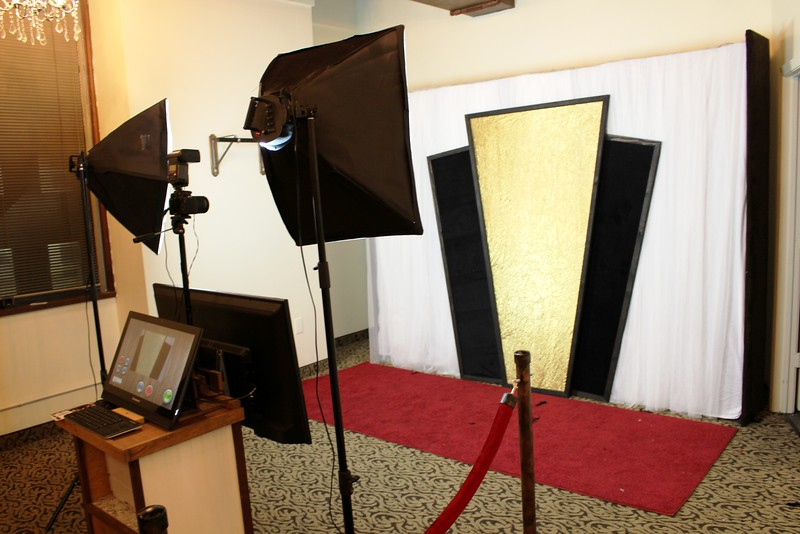 Corporate Art Deco Photo Booth Event.