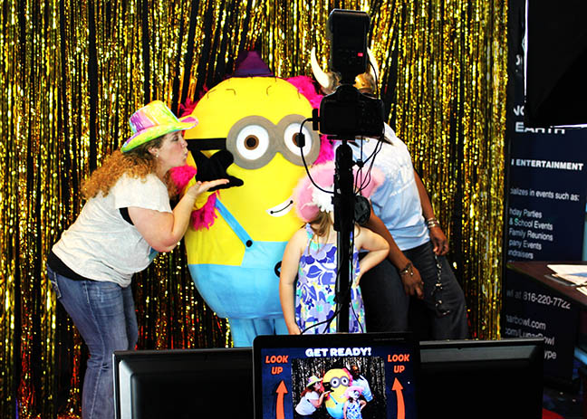The Looking Glass Photo Booths Red Carpet Minion