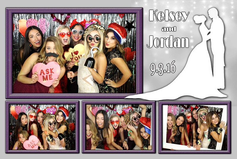 Formal Wedding Photo Booth Templates