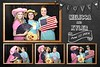 Rustic, Vintage Wedding Photo Booth Template. http://thelookingglassphotobooths.com/ Free Rustic Retro Vintage Photo Booth Rental Templates For Wedding And Corporate Events