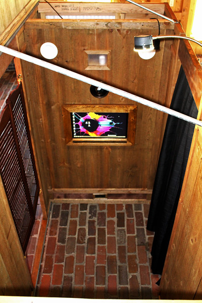 Our Rustic Western Saloon Photo Booth Interior.