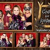 Rustic, Vintage Western Hunting Wedding Photo Booth Templates