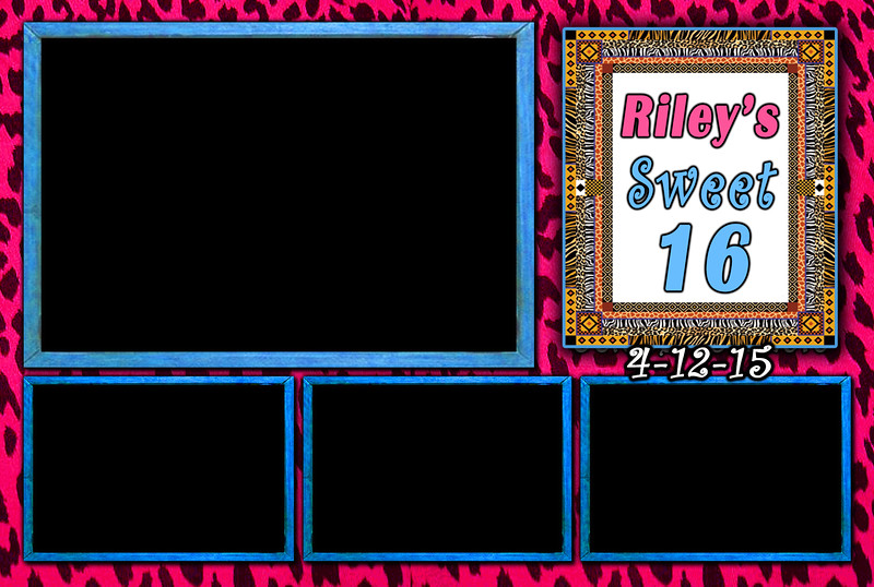 Sweet 16 Party Photo Booth Template. http://thelookingglassphotobooths.com/