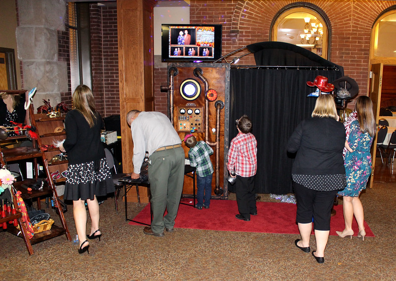 The Looking Glass Photo Booths Steampunk Time Machine