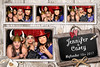 rustic chalkboard vintage wedding photo booth template