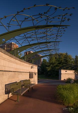 Cancer Survivor's Park, Ottawa, Ontario.  At Alta Vista at Industrial Ave.