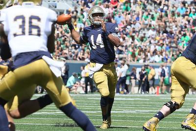 Notre Dame Blue/Gold game 2016