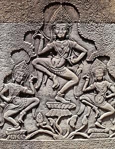 Celestial dancers (Apsaras)