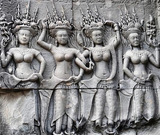 Devatas (Temple Guardians)