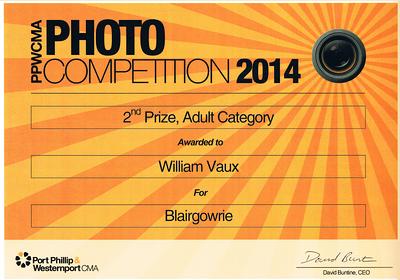 PPWCMA Photo Competition 2014 Award