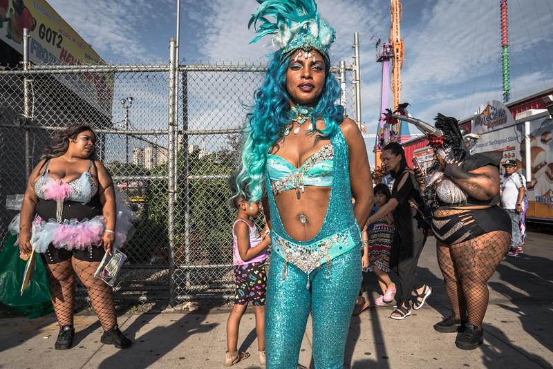 Mermaid, Coney Island, Brooklyn