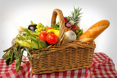 Veggies in a basket