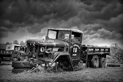 Truck 1430 bw