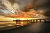 Naples Pier sunset 4835