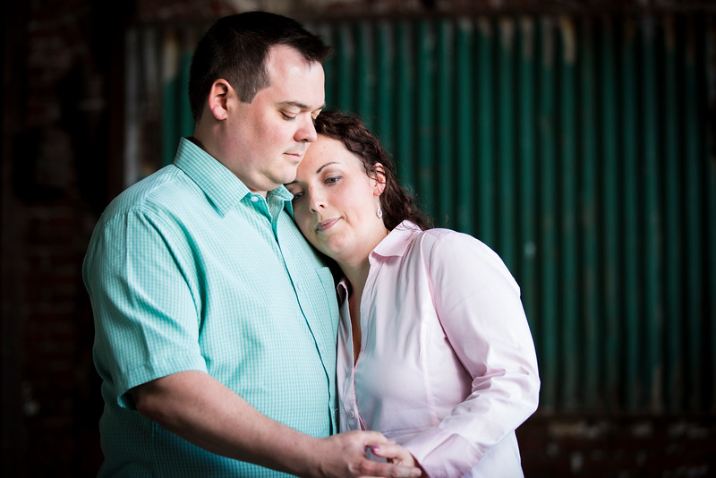 John & Kimberly Philly Engagement - Love
