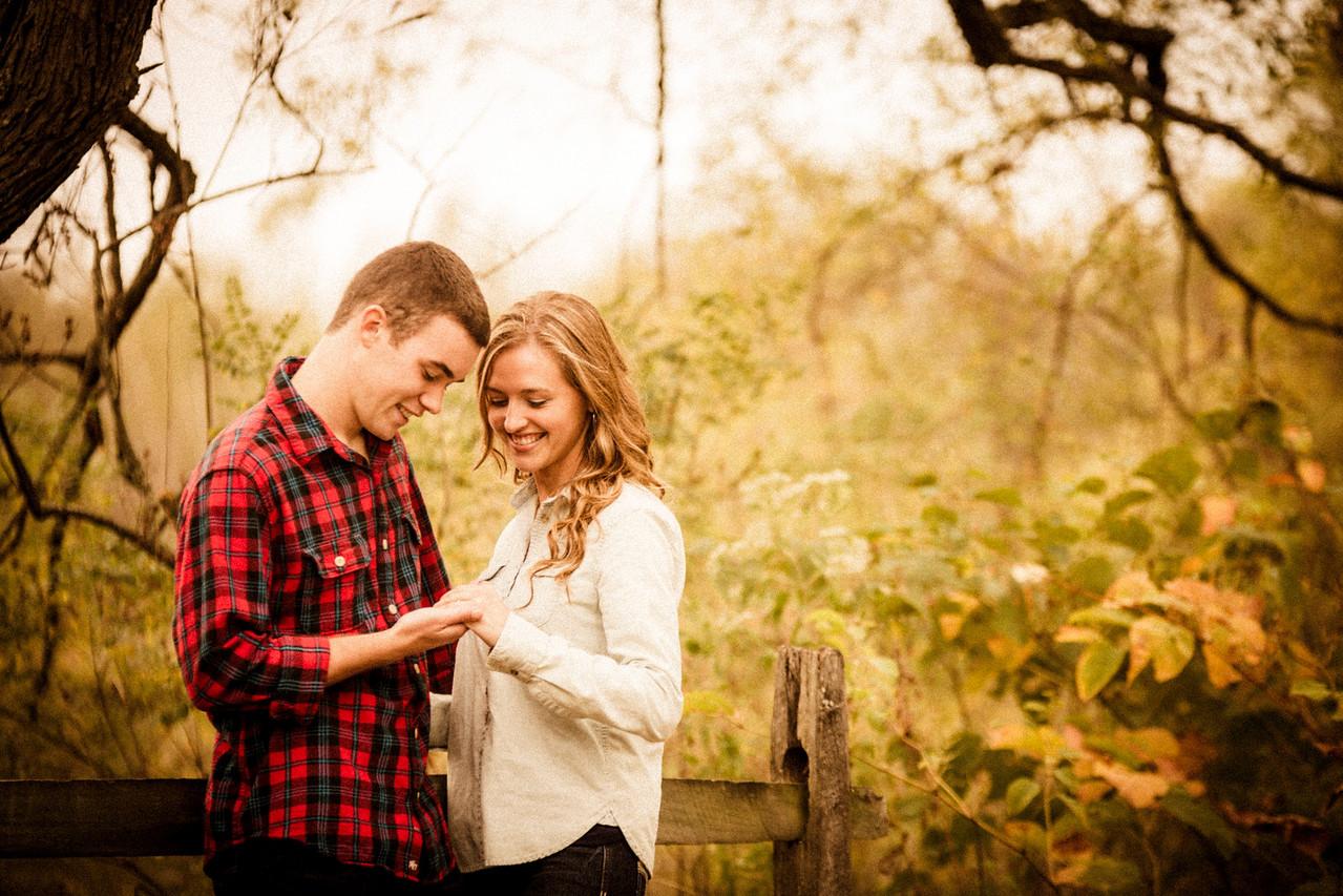 Derek & Christy Fall Engagement