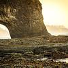 Hole in the Wall on the Washington coast near La Push