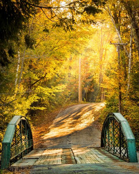 Early Morning Sunbeams - Jackson, NH