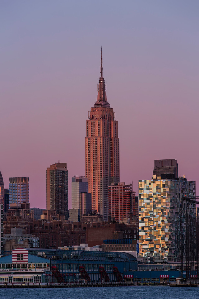 Empire State Building Twilight