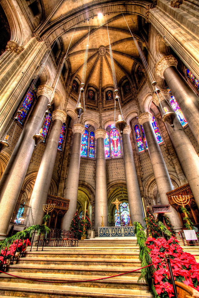 Inside the Cathedral of St. John the Divine