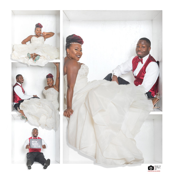 Wedding - 3x3 with Large Box Picture
