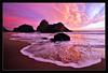 Pfeiffer Beach: Clouds Breaking at Sunset