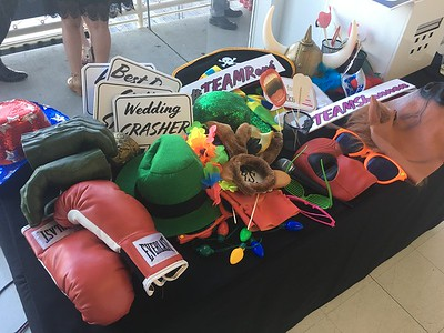 Prop Table with custom prop signs