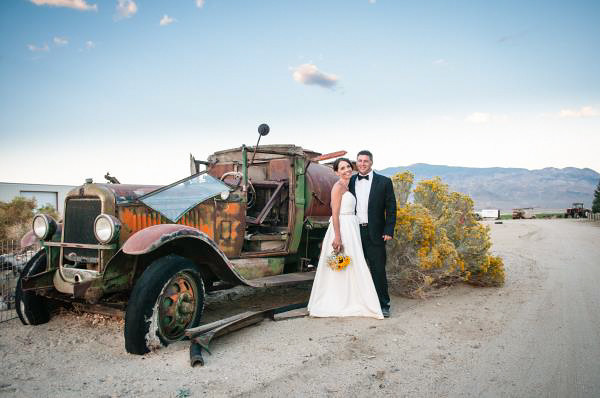 Wedding, Old Car