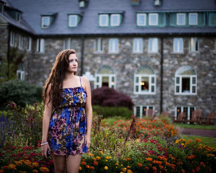 Tori at Skytop Lodge