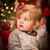 Scarlett Christmas Portrait - 2014