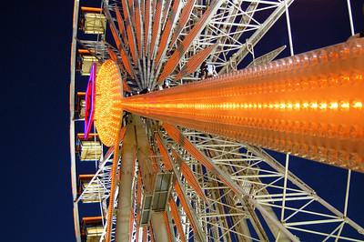 A fair at the orange county fair grounds