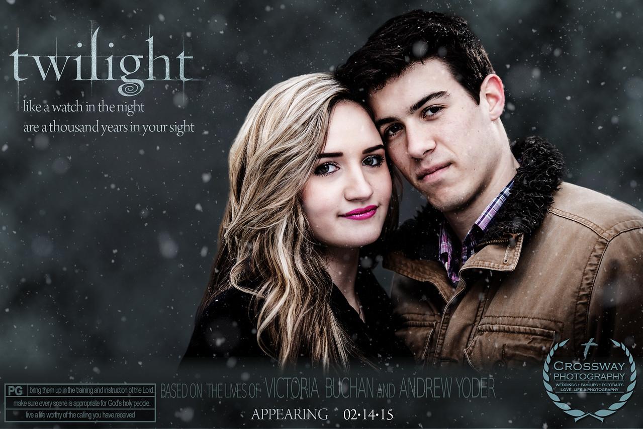 Cool Senior Photo Idea - Based on Twilight
