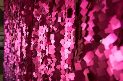 Fuchsia / Hot Pink Sequin