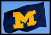 M Flag<br /> <br /> The Maize & Blue Michigan flag,<br /> flying over the Central Campus Diag<br /> <br /> University of Michigan, Ann Arbor<br /> <br /> 18-OCT-2007