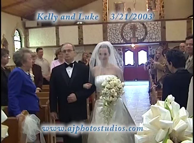 Kelly and Luke 3-21-03 cer