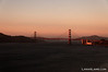 Golden Gate Bridge at sunset: Sept 2011