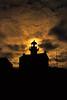 Old Point Loma Lighthouse at Cabrillo National Monument, San Diego, California - Nikon F100 on Fuji Velvia 50.  Developed using Kodak E6 Chemistry.