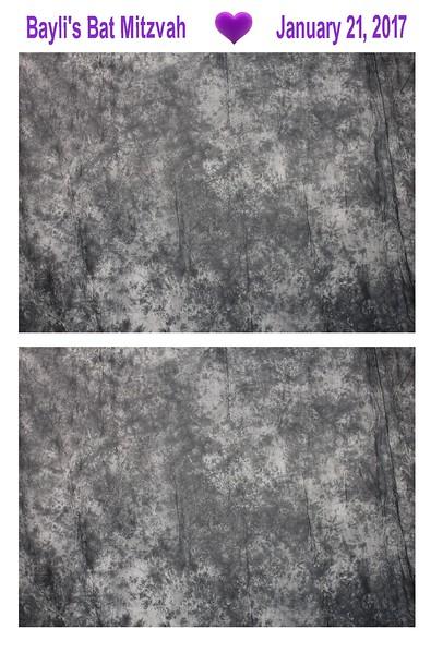 Backdrop in Gray (batik style)